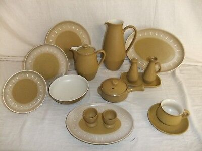 C4 Pottery Denby Stoneware - Ode - plates, bowls, cups & saucers, jugs - 1A2F