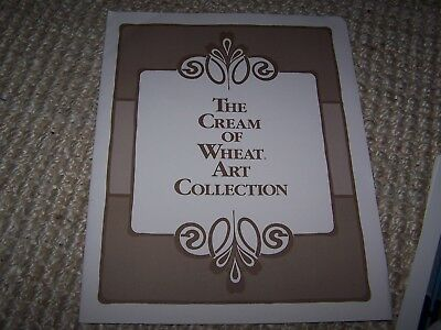 """Set Of 6 The Cream Of Wheat Art Collection Prints Folder & Biography 11"""" x 14"""""""