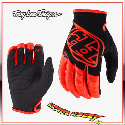 Guanto Cross Enduro Troy Lee Designs Gp Glove Orange Fluo Taglia Xl