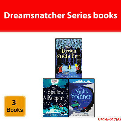 Dreamsnatcher Series Abi Elphinstone 1-3 Books Set collection Night Spinner NEW