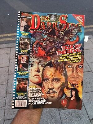 The Dark Side Magazine Issue 196 Oct 2018 Talk Of The Devil Christopher Lee Fred