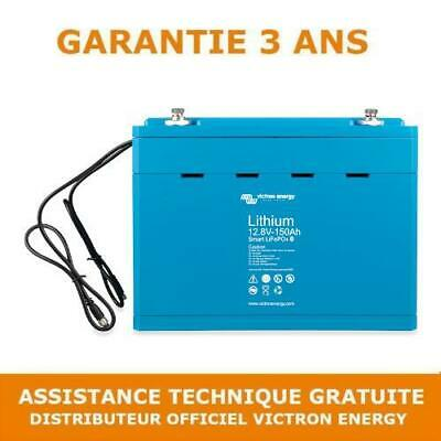 Victron Energy Lithium LiFePO4 Batterie 12,8V 150Ah Smart - BAT512115610 Loisir