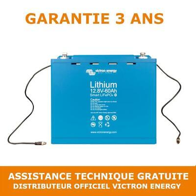 Victron Energy Lithium LiFePO4 Smart Batterie 12.8V 60Ah BAT512060410 Loisir