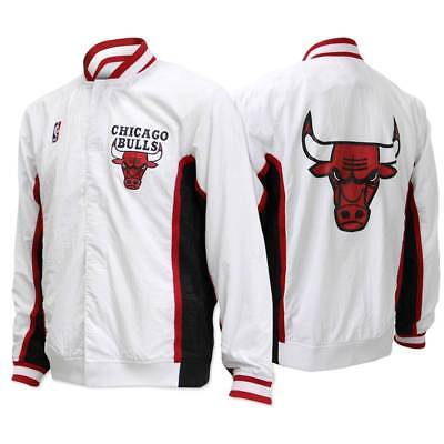 Mitchell & Ness Chicago Bulls 1992-1993 Authentic Warm Up Jacke Weiß