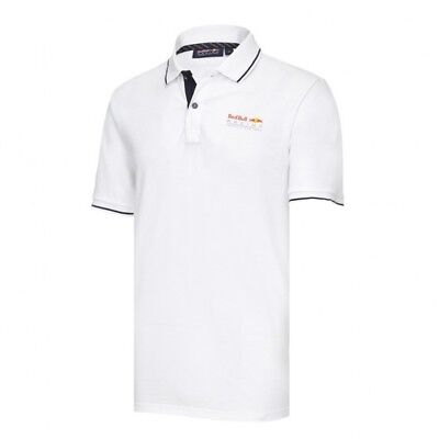 Red Bull F1 Formula One Racing Team Men's Classic Polo Shirt White RRP £75 NEW