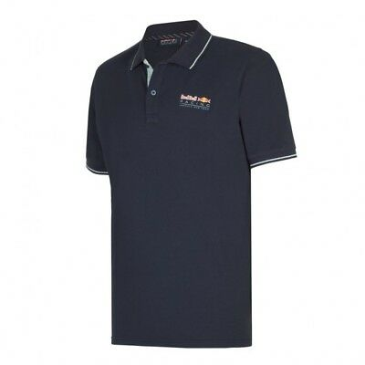 Red Bull F1 Formula One Racing Team Men's Classic Polo Shirt Blue RRP £75 NEW