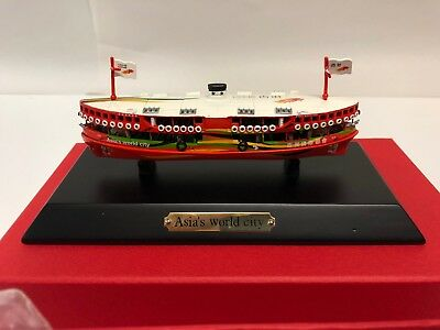 Heritage Workshop Hong Kong Star Ferry in Painted Pewter - Presentation Boxed