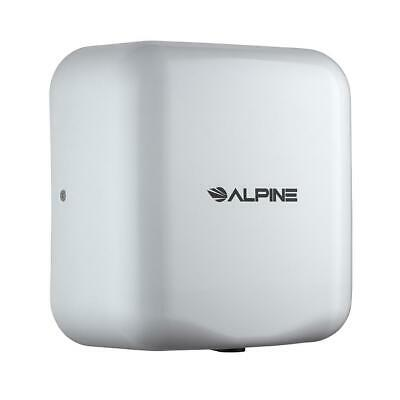 Alpine Industries White High Speed Commercial 120V Automatic Hand Dryer