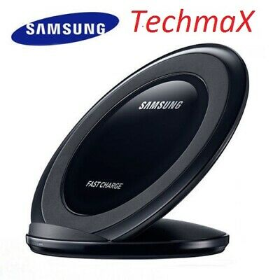 Samsung Wireless Qi Fast Charger Stand For Galaxy S7 S8 S9 Plus Note 8 9
