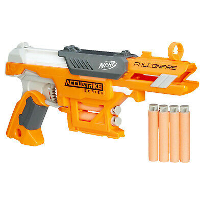 NERF Nerf N-Strike Elite AccuStrike Falconfire Spielzeugblaster, Orange