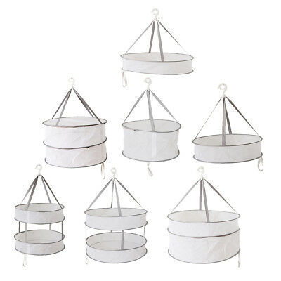 Drying Rack Folding Hanging Clothes Laundry Sweater Basket Dryer Net PICK
