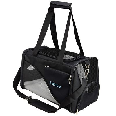 Pet Carrier - Soft Sided, Airline Approved Carrying Bag for Small Dogs and Cats