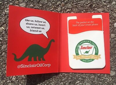 SINCLAIR OIL 1916-2016 100th ANNIVERSARY smartphone pocket NEW