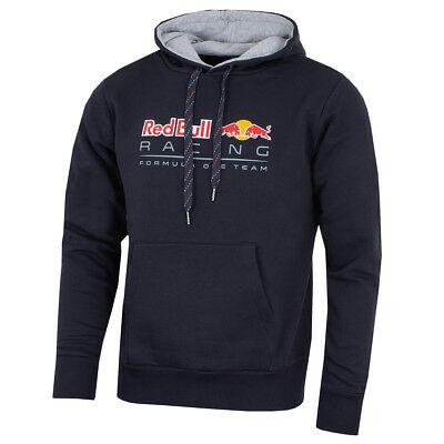 Puma Red Bull F1 Racing Team 2018 Men's Pullover Hoodie Jacket Navy RRP £115 NEW
