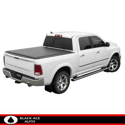 """New Soft /& Lock Roll Up Tonneau Cover For  2009-2017 Dodge Ram Crew Cab 5/'7/"""" Bed"""