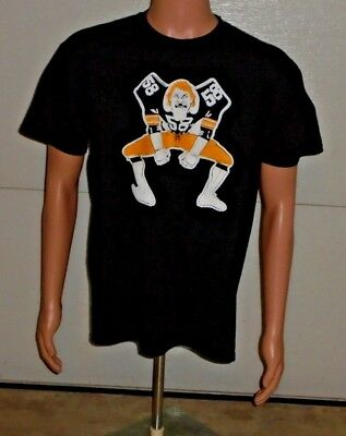 212aaee0e Jack Lambert Pittsburgh Steelers NFL Caricature Large Short Sleeve Tee Shirt