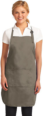 Personalized Custom Embroidered Picture Full-Length Apron A703