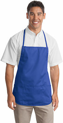 Personalized Custom Embroidered Picture Medium-Length Apron.  A525