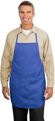 Personalized Custom Embroidered Picture Full-Length Apron.  A520