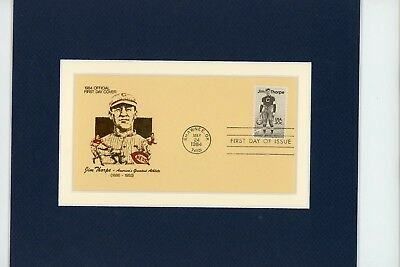 Jim Thorpe wins Olympic Gold - Stockholm,1912 & First Day Cover of his own stamp