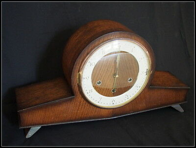 Whittington Westminster Chime Mantel Clock. Smiths Art Deco