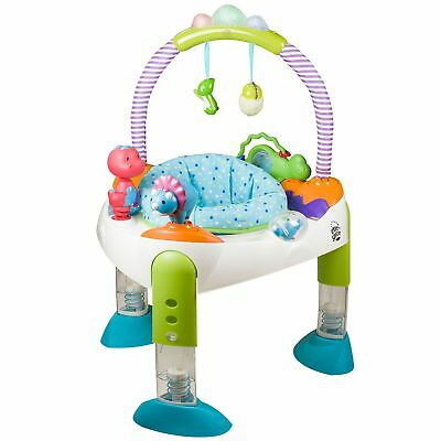new ExerSaucer by Evenflo Fast Fold +Go 'D' is for Dino Activity Learning Center
