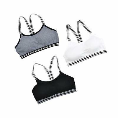 a00dc73a5f Women s High Impact Mesh Underwear Thin Mold Cup Breathabl Gym Active  Sports Bra