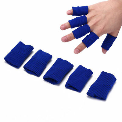 Sport Aid Finger Protective Finger Guards Stretchy Sleeve Bandages