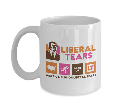 Liberal Tears - America Runs On Liberal 15oz. Mug - Deplorables Drink Of Choice