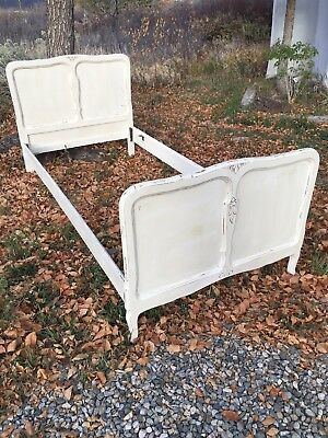 Antique French Provincial Twin Bed 1920's