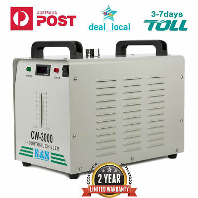 CW-3000 V Thermolysis Industrial Water Chiller for 60/80W CO2 Glass Tube 220V