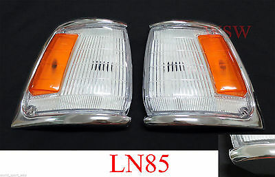 For 89 - 93 Toyota Hilux Mk3 Ln/rn/yn 2/4Wd Pickup Corner Side Light Lamp L+R