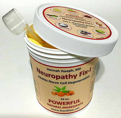 Neuropathy Pain Relief MD-Formulated NEUROPATHY FIX-1: For Peripheral Neuropathy