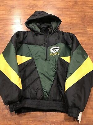sports shoes 66111 105d7 VINTAGE GREEN BAY Packers NFL Pro Player Varsity Jacket ...