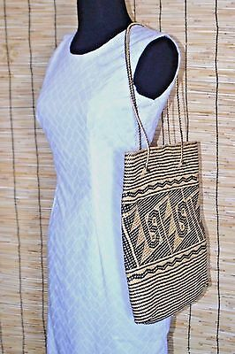 New Beautiful Handmade Borneo Dayak Rattan Woven Women Shoulder Strap Bag Tote
