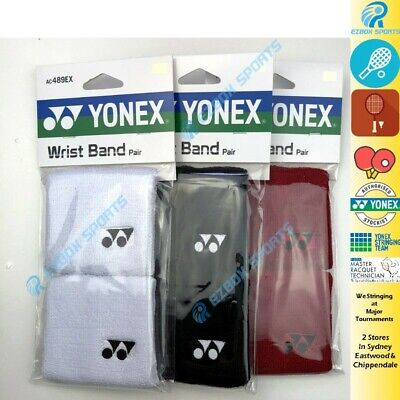 Yonex Wrist Band (Pair) AC489EX, Unisex WristBand  for Sports, Gym, Yoga.