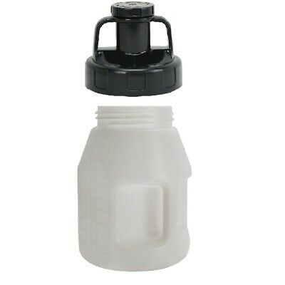 Oil Safe Container Drum for Oil 5 Litre With Oil Safe Utility Lid Black