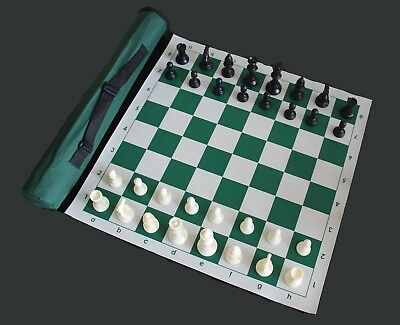 Vinly Chess Set and Board plus Bag