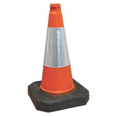 Red Traffic Safety Cone 500Mm Road Speed Limit Environmentally Friendly Plastic