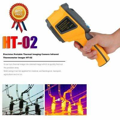 Precision Prot ABle Thermal Imaging Camera Infrared Thermometer Imager HT-02 DK