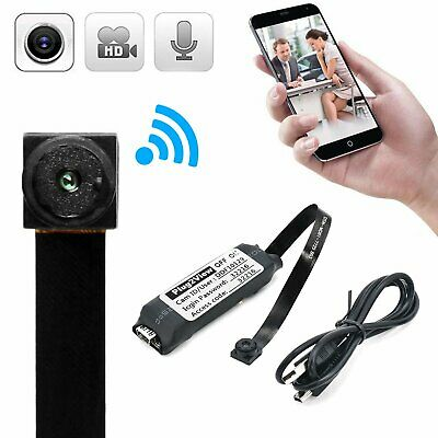 Mini Camera Wifi Telecamera Ip Wireless Hd Microcamera Spia Spy Cam P2P Antenna
