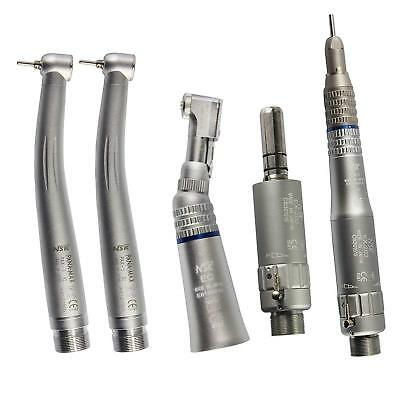 Dental 2 High Speed Pana-Max Handpieces with 1 Low Speed Handkit Set 2 Holes