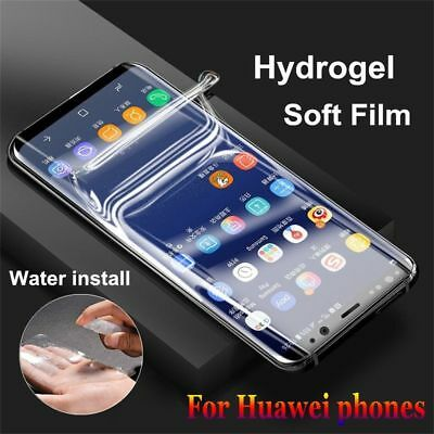 Hydrogel Film Full Coverage Screen Protector for Huawei Mate 20 Lite 10 P20 Pro