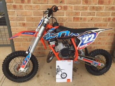 Ktm 50 Sx 2018 Pro Senior With Loads Of Extras