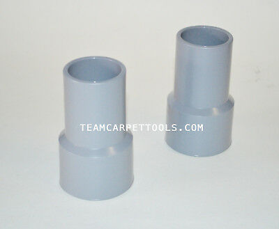 "Carpet Cleaning Vacuum Hose Grey Vinyl Cuffs 1.5"" inches (2 pieces)"