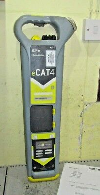 Calibrated e-CAT 4 Cable avoidance tool Detector scanner locator cat 4 strike al