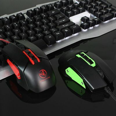 5000DPI-Optical -USB-Wired-Gaming-Mouse-6-Buttons-Gamer-Laptop-Computer-Mice MA