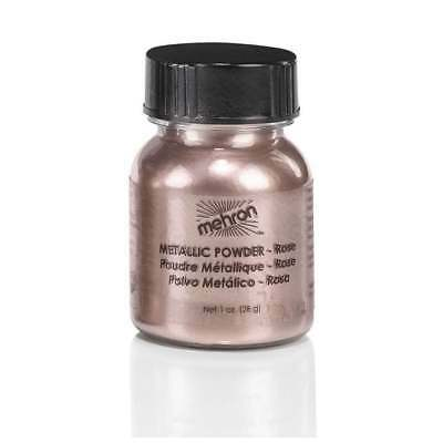 Mehron Metallic Powder Rose Gold 30g