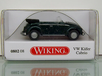yuccagrün metallic 1:87 #080208 Wiking VW Käfer Cabrio