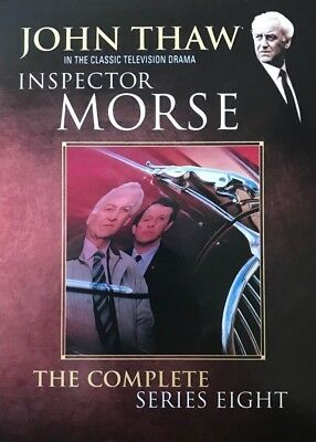 Inspector Morse Complete 8th Series Dvd John Thaw New & Factory Sealed